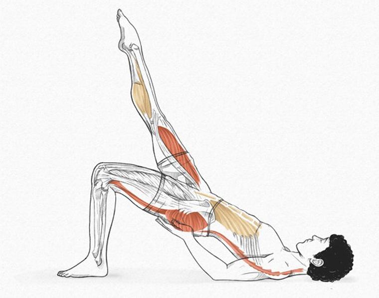 The Shoulder Bridge - exercícios originais de Pilates