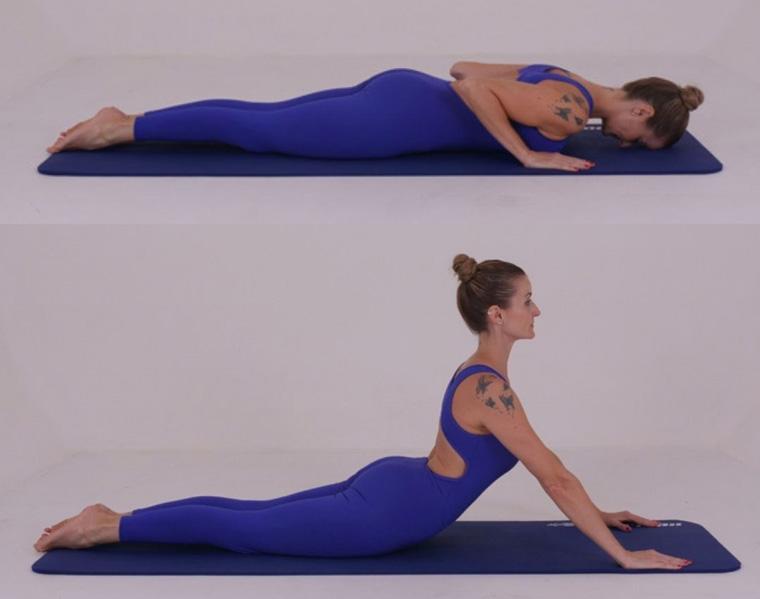 The Swan-Dive - exercícios originais de Pilates