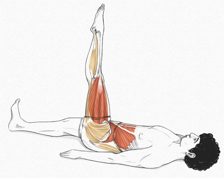 1 - Leg Circles (tratamento de artrose de quadril)