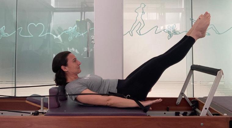 Exercício 3 - Leg Circle exercícios do nível básico