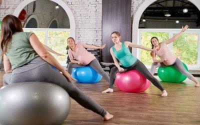 Cuidados necessários durante as aulas de Pilates com gestantes